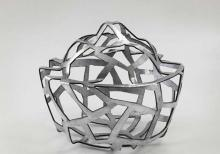 Structure II / 2011, Aluminium 40x46 cm. Courtesy of The Artist and The Third Line
