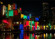Inaugural 'Dubai Festival of Lights' Showcases Over 30 Spectacular Artistic Installations