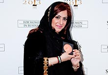 Dubai Woman Honoured with Lifetime Achievement Award