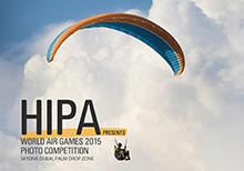 HIPA to Launch a 'Photography Competition' at the World Air Games 2015