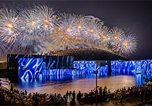 Louvre Abu Dhabi Inaugural Week with Spectacular Lightshow and Fireworks