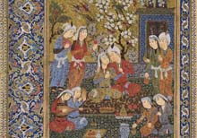 A major exhibition of Persian manuscripts at the State Library of Victoria