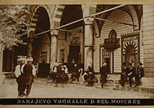 'Old Sarajevo', from the Photo Collection of the Gazi Husrev Bey Library
