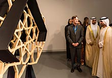 The Opening of the Sharjah Islamic Arts Festival 2017