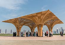 Sharjah Pavilion by Josh Haywood