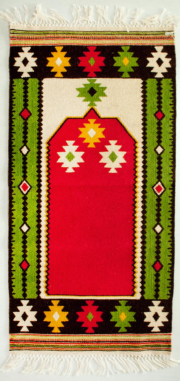 Harmony Repetition And Vivid Colors Of The Bosnian Kilim